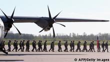 NATO USA Truppen Landung Litauen Baltikum 26 .April 2014