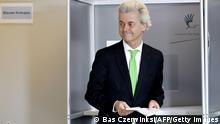 Europawahl Niederlande Wilders 22.05.2014