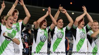 Frauenfußball Champions League Finale 2014 VfL Wolfsburg Tyresö FF