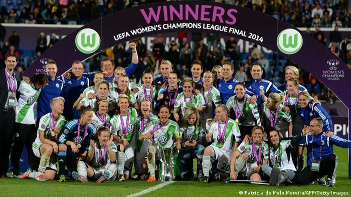 Футбол немецкая команда вольфсбург
