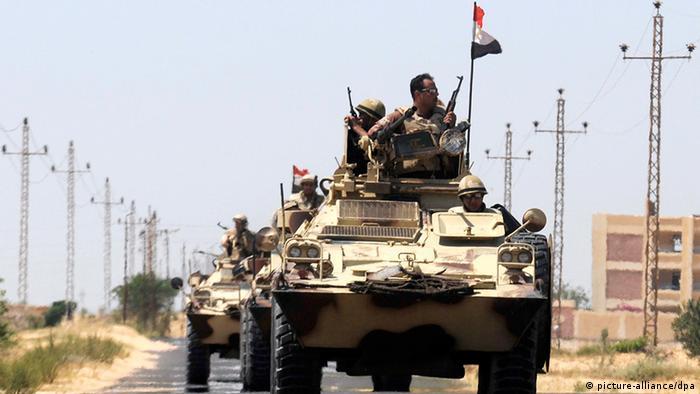 Ägypten Islamistenführer Shadi al-Menei auf Sinai getötet Armee