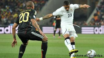 Boateng's clash in south Africa 2010