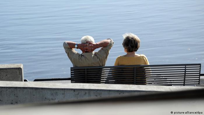 Umirovljenici na klupi