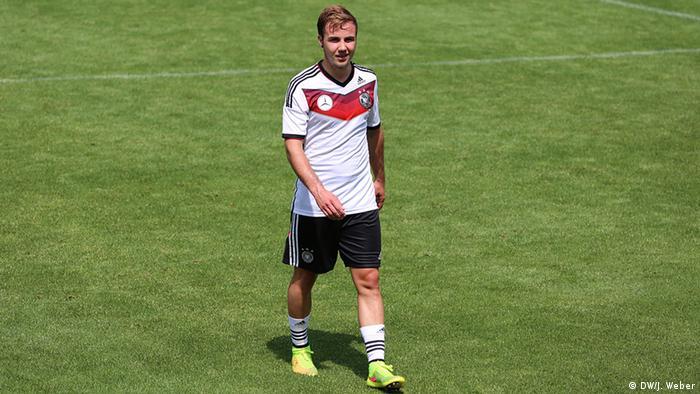 Deutschland Fußball WM Mario Götze im DFB-Trainingslager in Südtirol