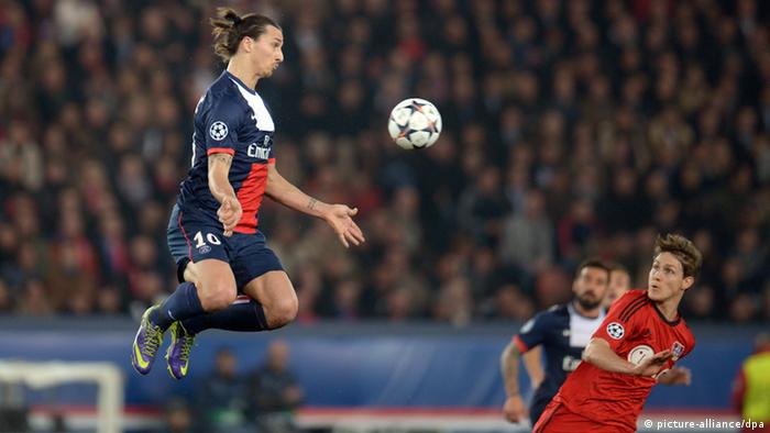 Zlatan Ibrahimovic Fußballspieler