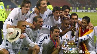 Real Madrid Champions League Sieg 2002