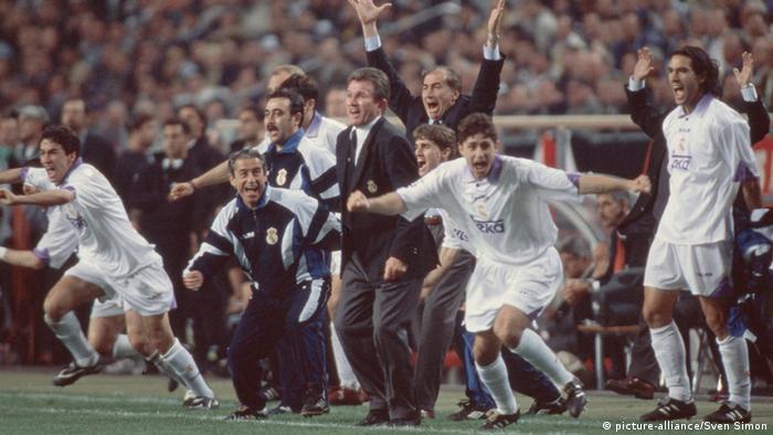 Real Madrid Champions League Sieg 1998 (picture-alliance/Sven Simon)