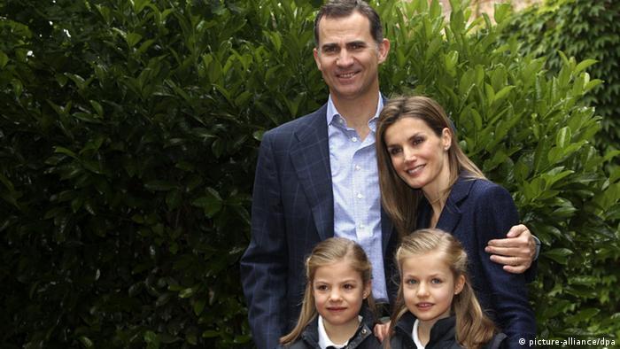 Spanien Königliche Familie Hochzeitsjubiläum