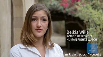 Screenshot Belkis Will Human Rights Watch