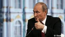 Putin Wirtschaftsforum St. Petersburg SPIEF 23.05.2014