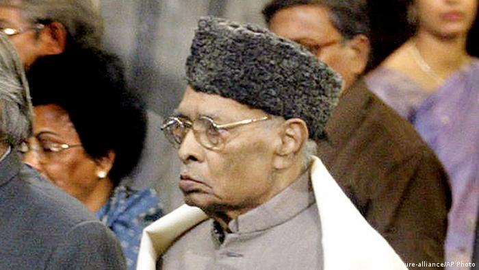 Narasimha Rao Ehemaliger Premier Indien 2014 (picture-alliance/AP Photo)