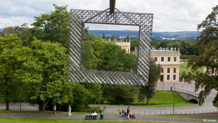 art installation in park at the documenta 1977 (Imago)