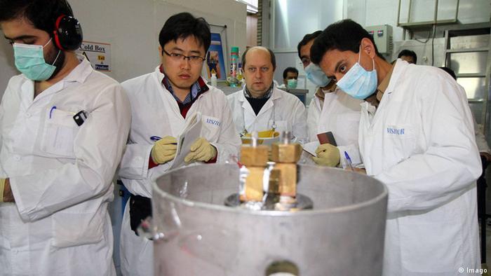 Iran IAEA Inspektion in Natanz 2014 (Imago)