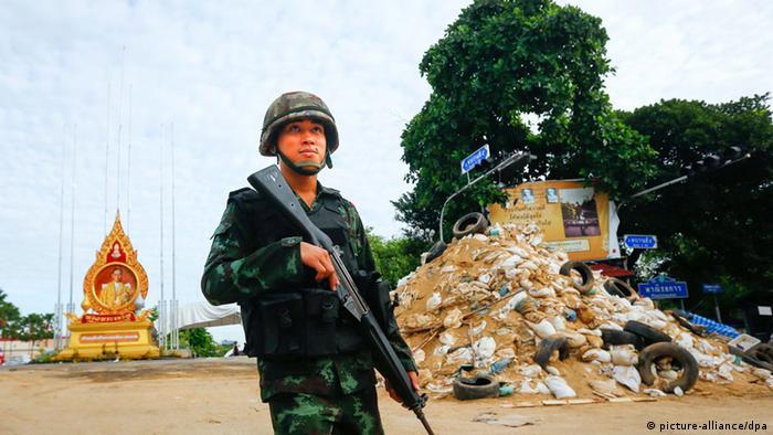Thailand Militärputsch 24.05.2014