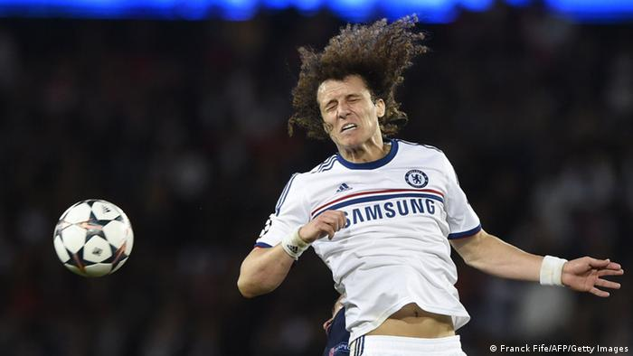 Former Chelsea player David Luiz