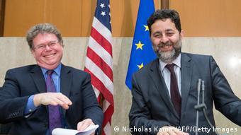 Verhandlungen über Freihandelsabkommen TTIP zwischen USA und EU 23.05.