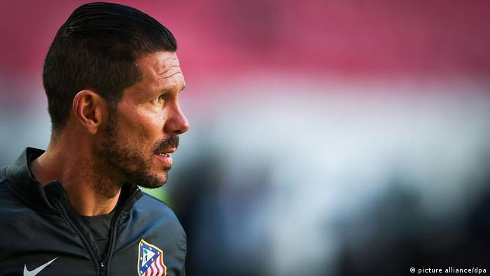 Atletico Madrid-Trainer Diego Simeone (picture alliance/dpa)