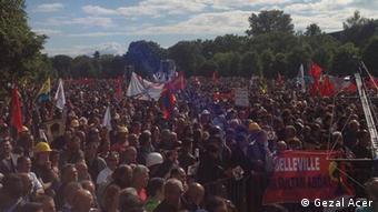 Demonstration gegen Erdogan- Auftritt am 24.05.14