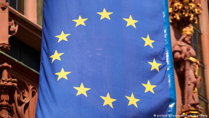 Flagge der EU (picture alliance/Wolfram Steinberg)