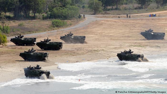 Militärmanöver USA Thailand (Ponchai Kittiwongsakul/AFP/Getty Images)