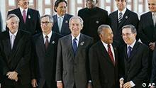 Amerika Gipfel 2005 in Mar del Plata, Argentinien, Gesamtaufnahme, Bush