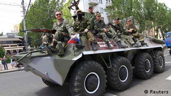 Συγκρούσεις στην ανατολική Ουκρανία και την ημέρα των εκλογών
