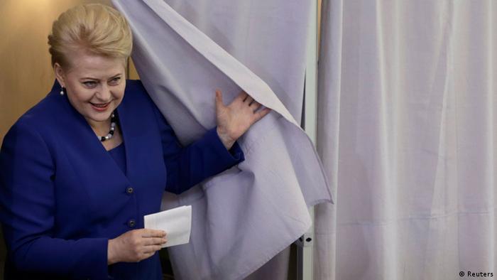 Dalia Grybauskaite (Foto: Reuters)