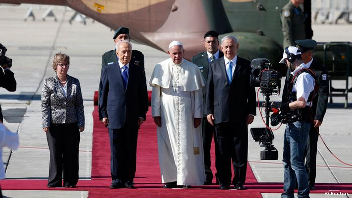 Papst Franziskus in Israel 25. Mai