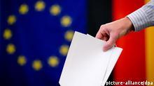 EU Parlamentswahl 25.05.2014 Deutschland