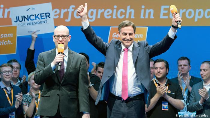 EU Parlamentswahl 23.05.2014 Deutschland CDU