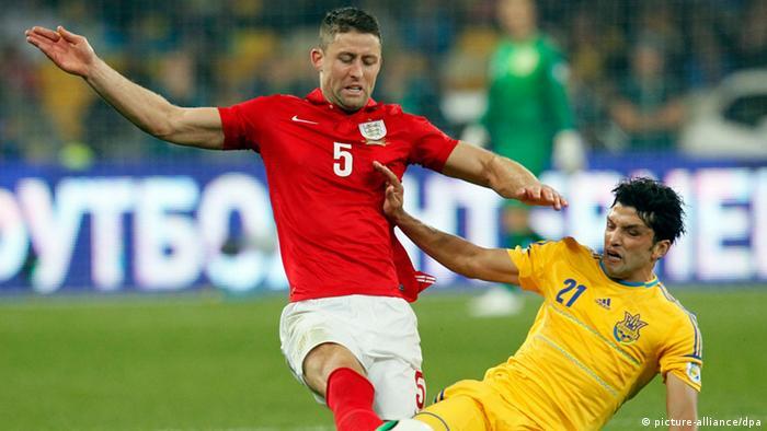 Fußball Ukraine vs England