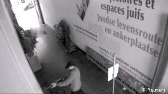 Belgien Attentat Jüdisches Museum Brüssel Videostill Täter SCHLECHTE QUALITÄT