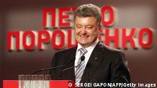 Präsidentschaftswahlen in der Ukraine Poroschenko 25.05.2014