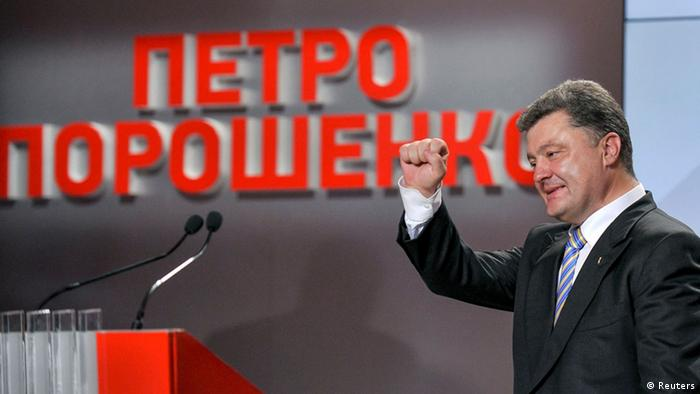 Petro Poroschenko Photo: REUTERS/Mykola