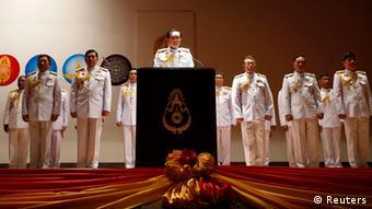 Thailand Militärputsch PK Armeechef in Bangkok 26.05.2014