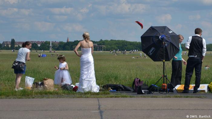 Tempelhofer Feld in Berlin, Copyright: DW / S. Bartlick