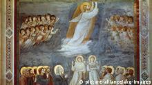 Giotto Gemälde Christi Himmelfahrt