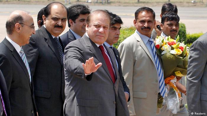Nawaz Sharif Premierminister Pakistan Besuch in Neu Delhi