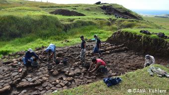 Los antiguos habitantes de la isla aprendieron a controlar los flujos de agua para el consumo, los cultivos y los rituales.