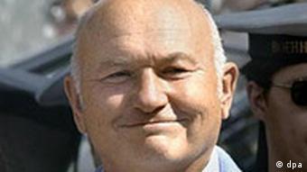 Moscow's mayor Yuri Luzhkov