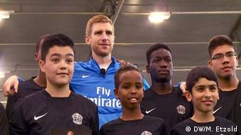 Per Mertesacker Arsenal London (DW/M. Etzold)