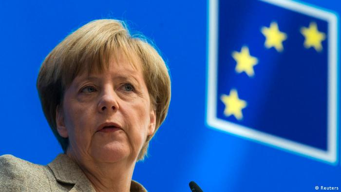 Angela Merkel Europapolitik
