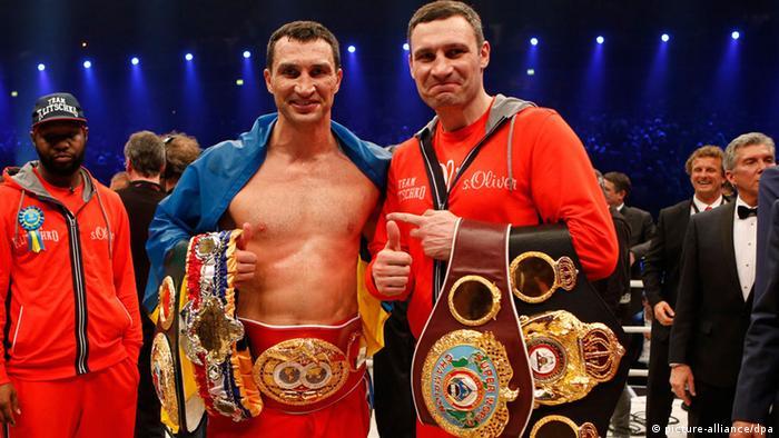 Boxen Wladimir und Witali Klitschko