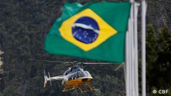 Частный вертолет в Бразилии