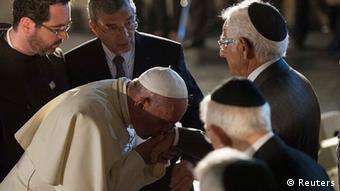 Israel Vatikan Papst Franz in Jerusalem Yad Vashem