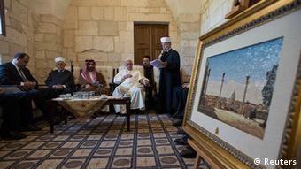 Israel Vatikan Papst Franz in Jerusalem Großmufti