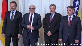 U razmjere poplava u BiH uvjerio se i njemački šef diplomatije Frank-Walter Steinmeier