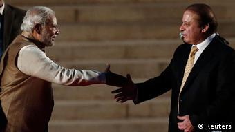Indien Narendra Modi trifft Nawaz Sharif in Neu-Dheli 26.05.2014 (Reuters)
