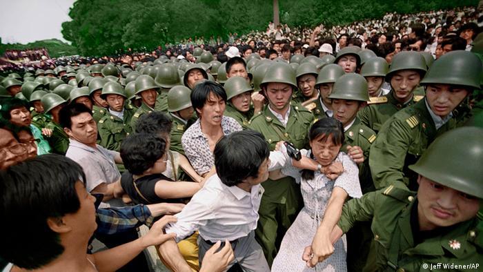 Bildergalerie Tiananmen (Jeff Widener/AP)