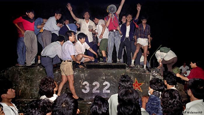 Tiananmen, 3 de junio de 1989.